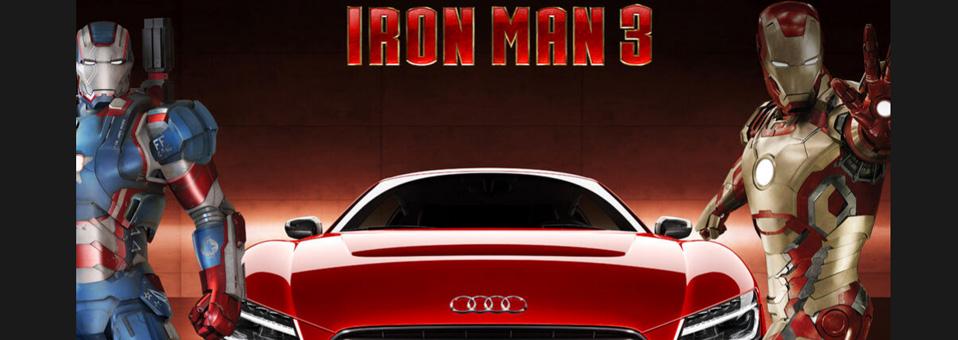 El Audi R8 e-Tron de Iron Man 3